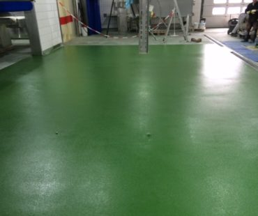 ABK Kunststofvloeren - Industriële slaapkamer